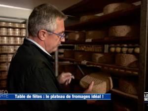 Le plateau de fromages de Noël des Frères Marchand